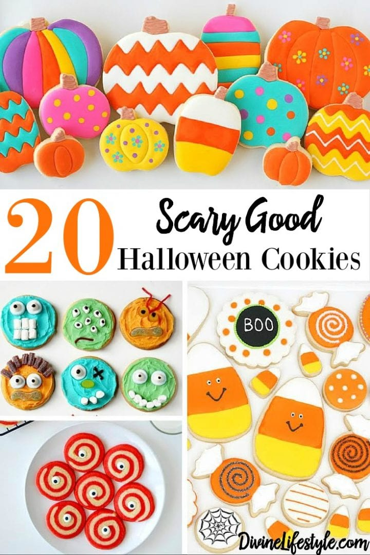 20 Scary Good Halloween Cookies