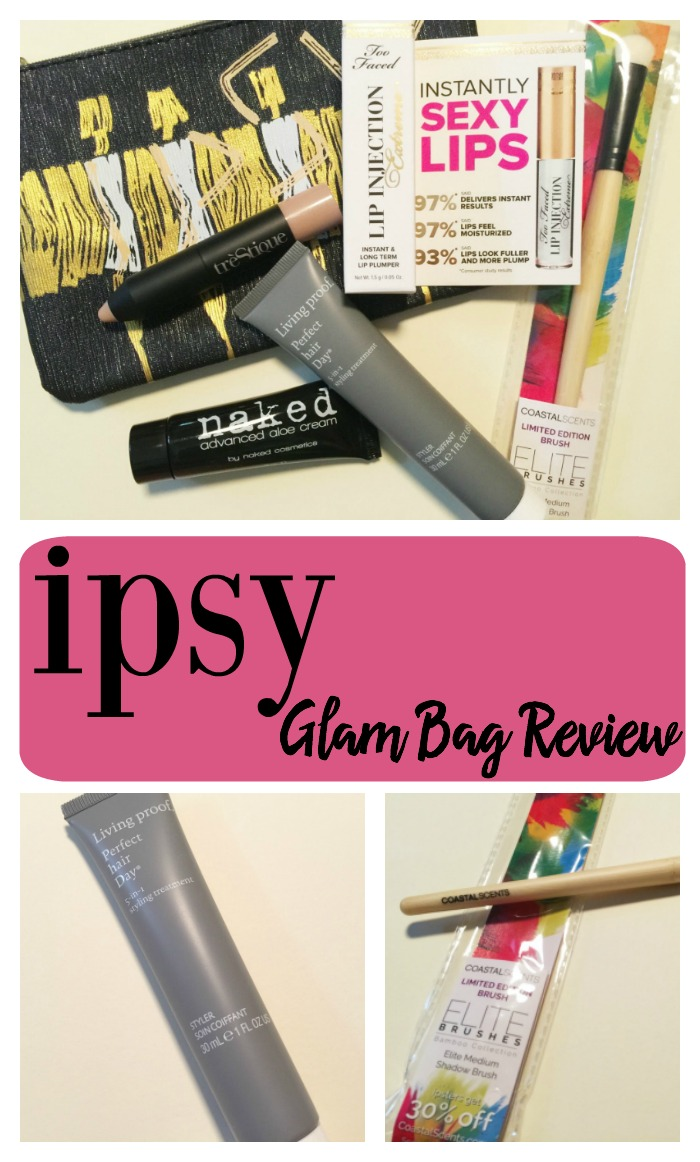 Ipsy Glam Bag Reveal September 2016