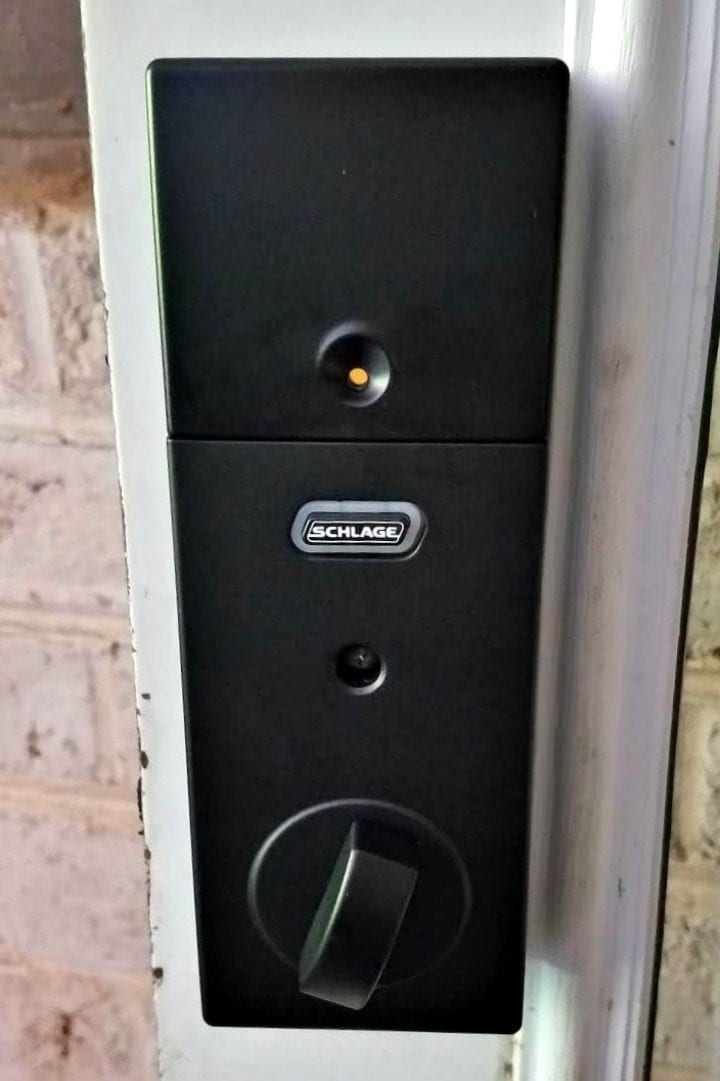 Easy Diy Installation Schlage Sense Smart Deadbolt Divine