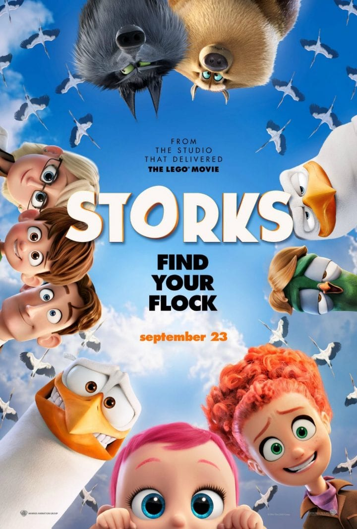 Meet the characters in STORKS the Movie #STORKS