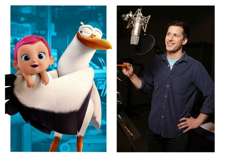 Meet the characters in STORKS the Movie #STORKS Andy Samberg