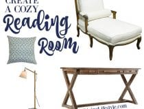 Create a Cozy Reading Space