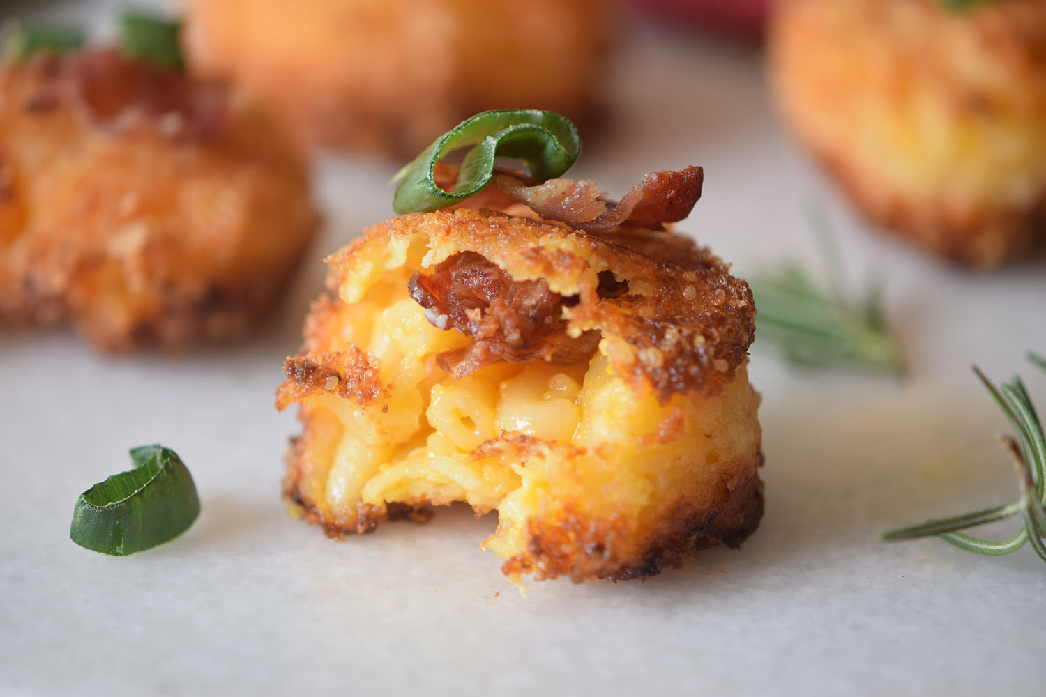 Bacon Fried Mac and Cheese Bites Recipe