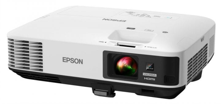 Make family movie night better with the Epson Ultra bright home theater projector from Best Buy