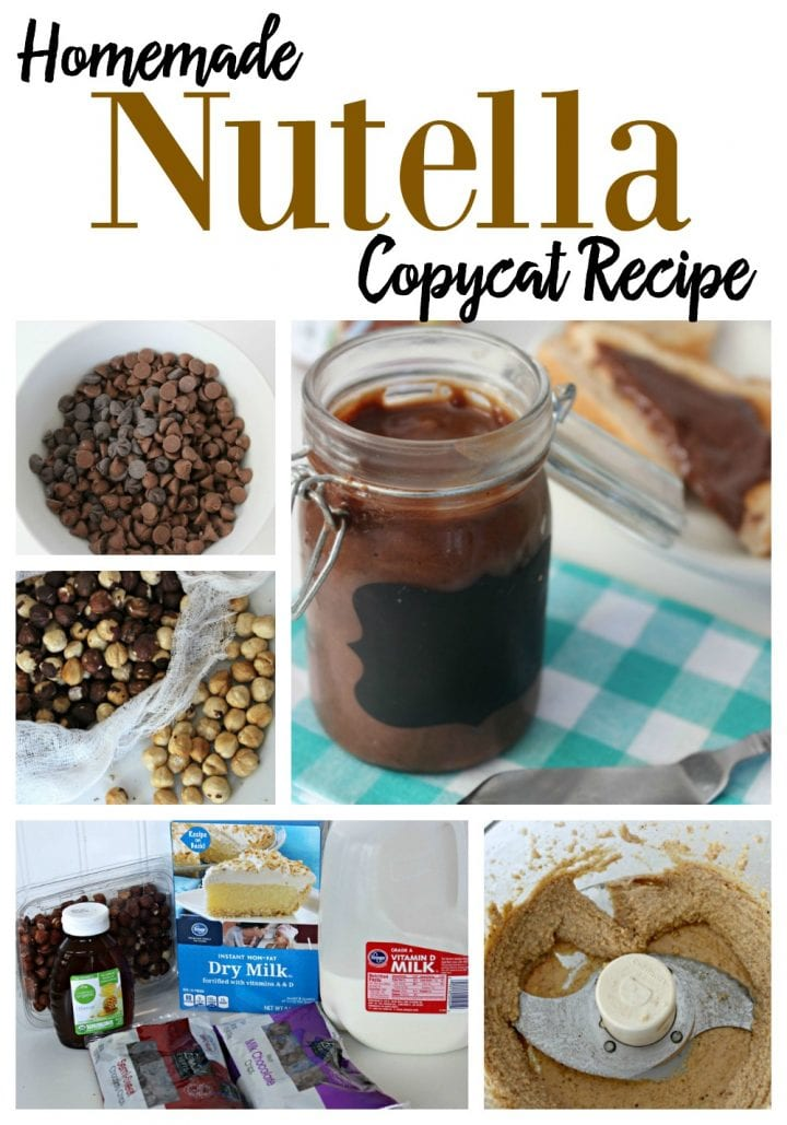 Homemade Nutella Copycat Recipe