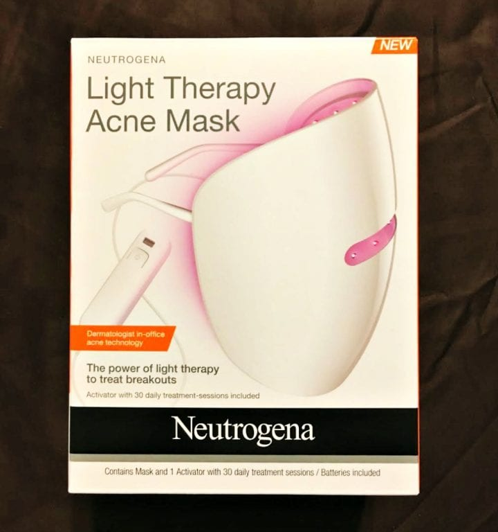 neutrogena light therapy mask available at rite aid divine lifestyle. Black Bedroom Furniture Sets. Home Design Ideas
