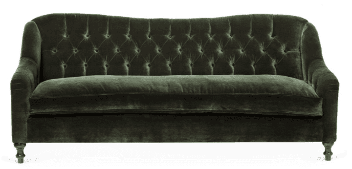 Velvet Furniture and Decor for the Home green velvet sofa living room