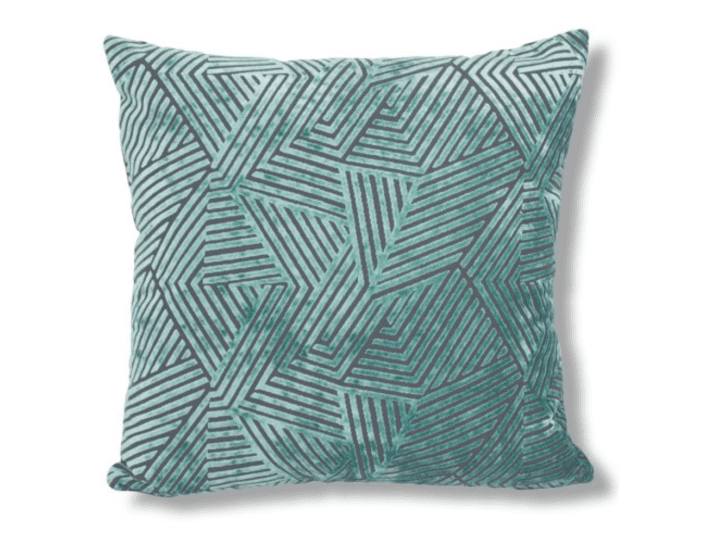 Velvet Furniture and Decor for the Home Turquoise Velvet Pillow