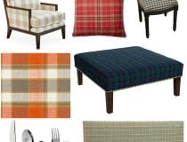Plaid Decor Ideas