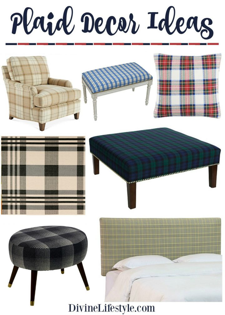 Plaid Decor: Warm Up Your Home for Winter