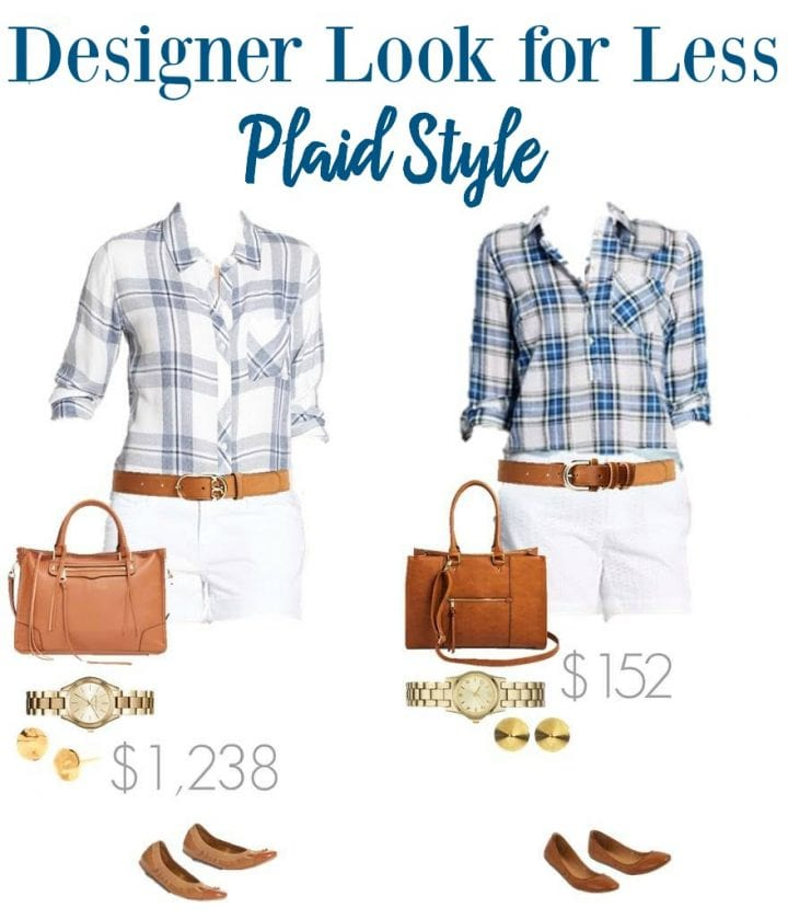 Designer Look for Less Plaid Style