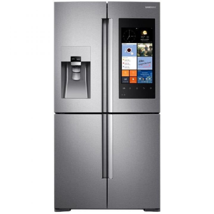 Technology and the Samsung Family Hub Refrigerator #Prep4theHolidays