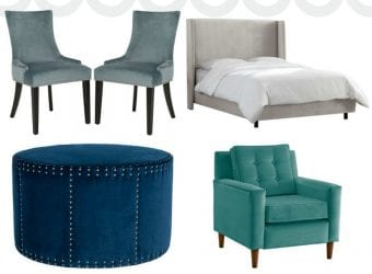 Using Velvet Throughout Your Home
