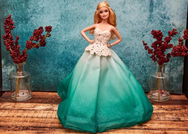 Celebrate the season with the 2016 Holiday Barbie Doll