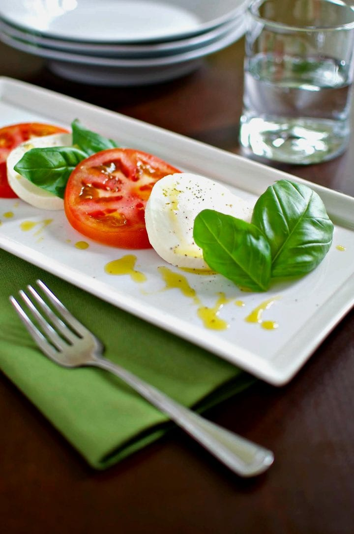 Traditional Caprese Salad Recipe