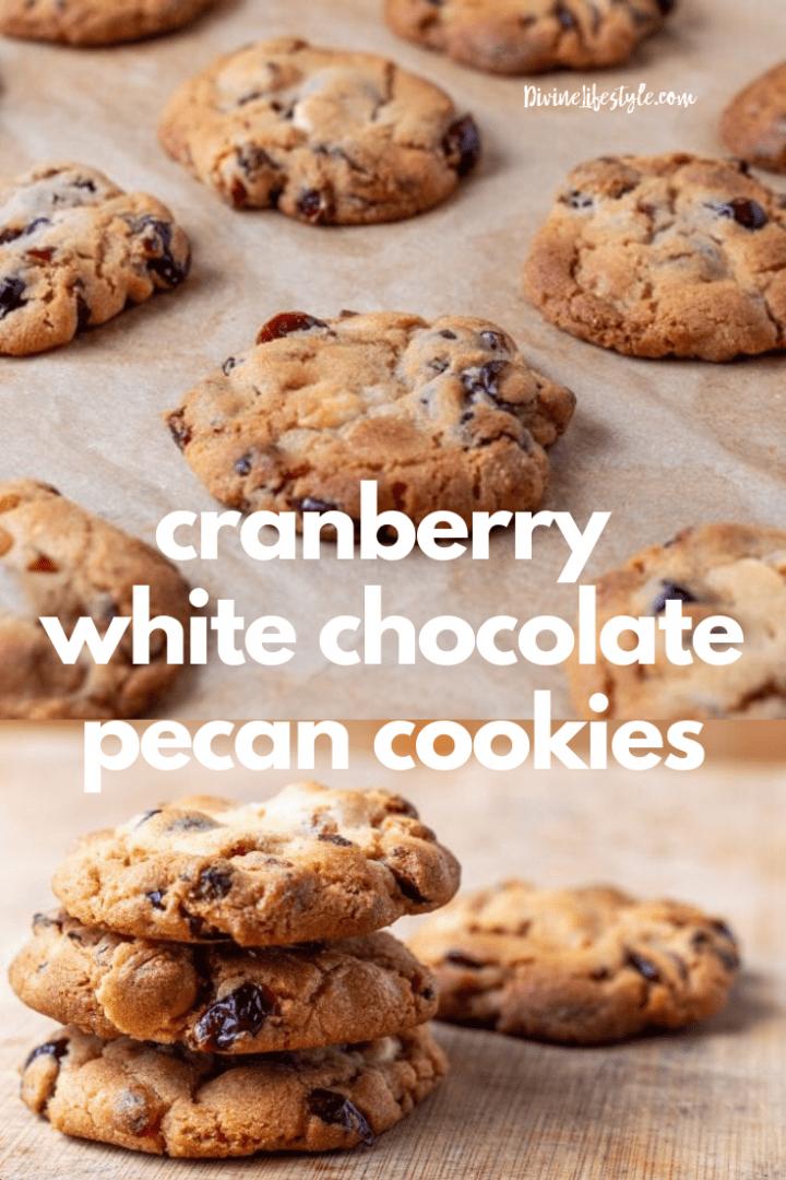 Cranberry White Chocolate Pecan Cookie Recipe