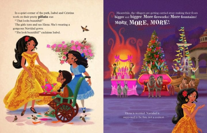 Elena of Avalor: Feliz Navidad #ElenaofAvalor #Giveaway