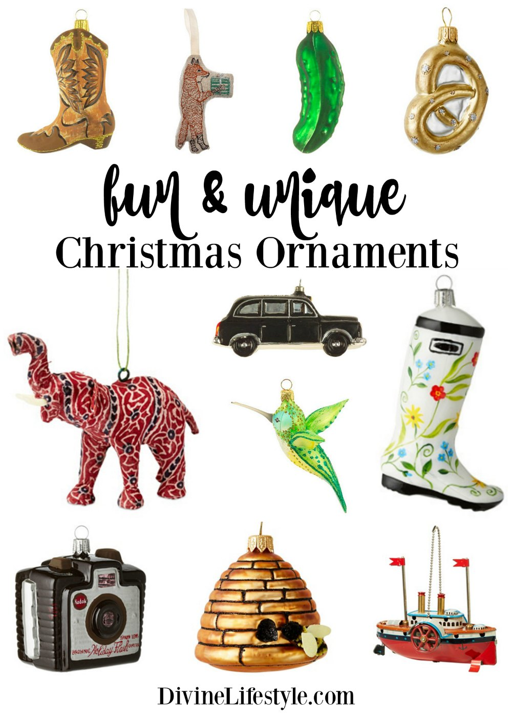 unique christmas ornaments best 20+ unique christmas ornaments