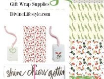 Gorgeous Holiday Gift Wrap Supplies