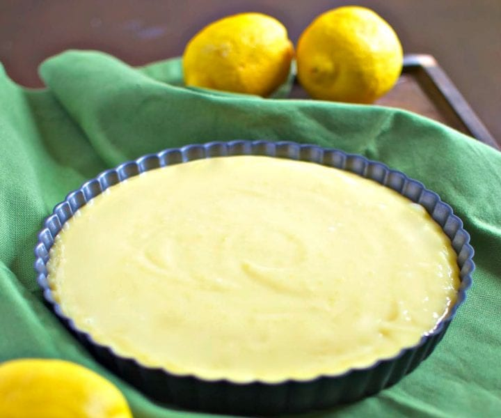 Lemon Curd Tart Recipe