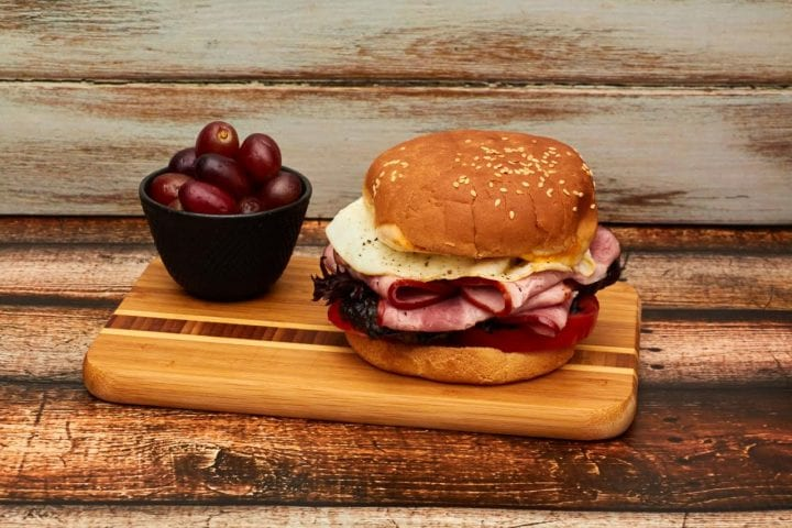 The Ultimate Ham Sandwich Recipe NatureRaised Farms® Uncured Smoked Sliced Ham