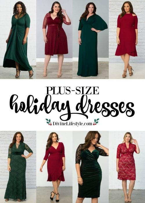 Plus Size Holiday Dresses Little Black Dress Divine Lifestyle