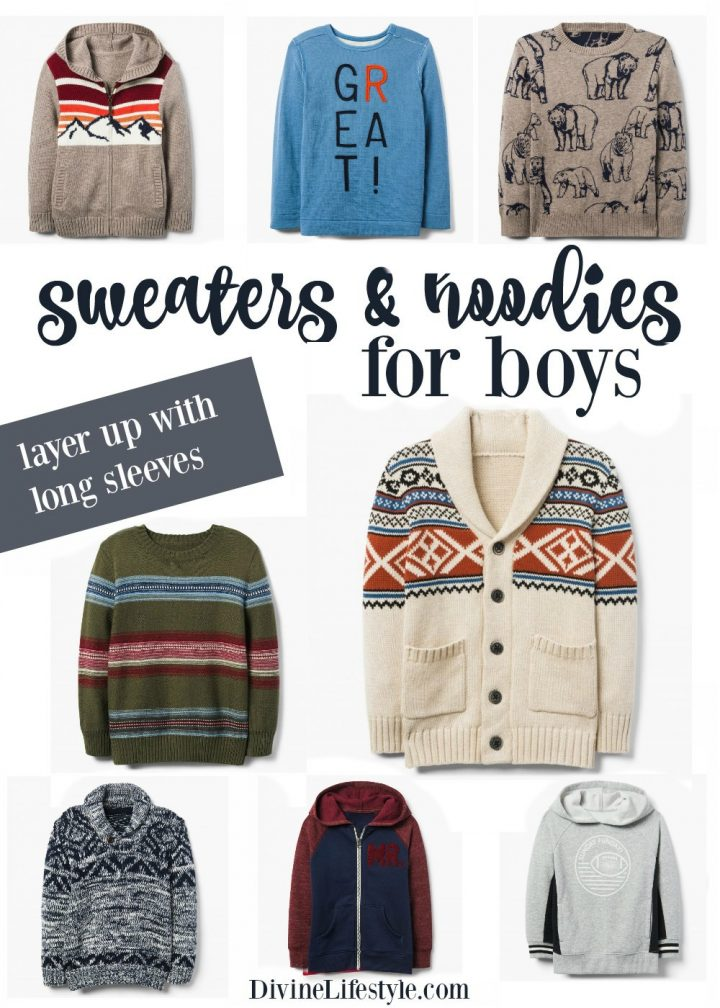 Sweaters and Hoodies for Boys