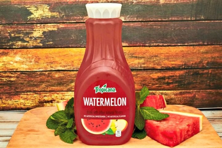 Watermelon Mint Mojito Recipe with Tropicana® Watermelon Premium Beverage