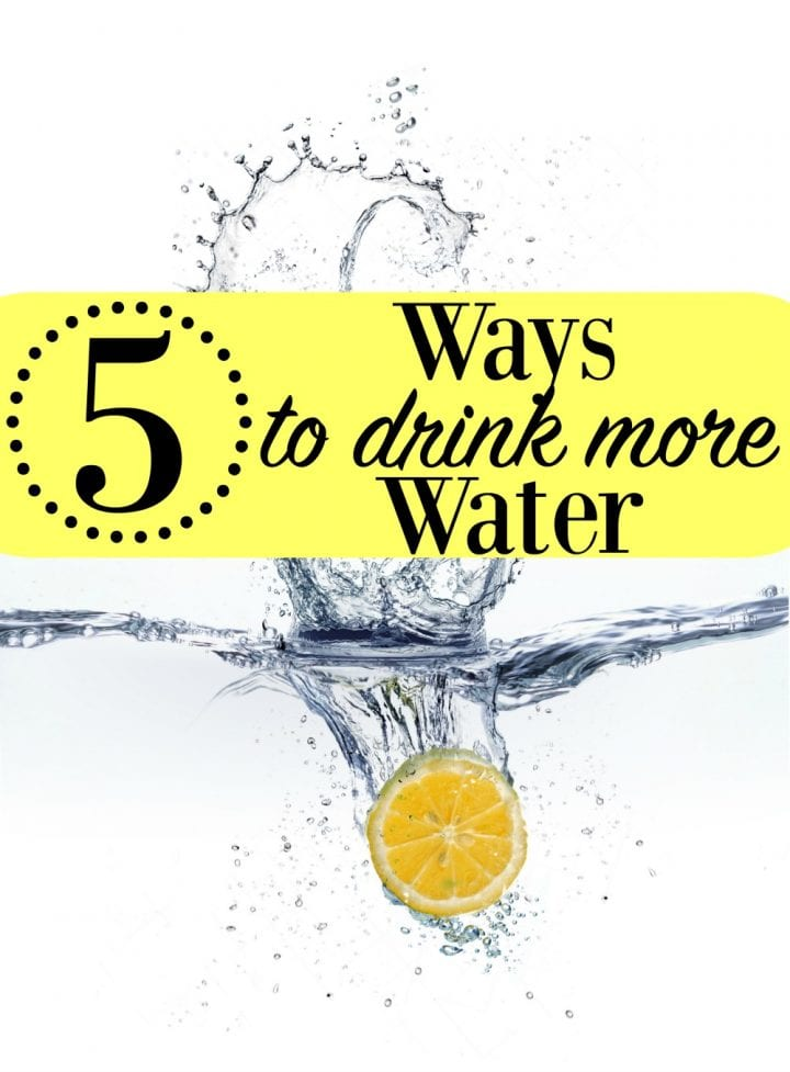 New Year-New You-New Water Habits: 5 Ways to Drink More Water