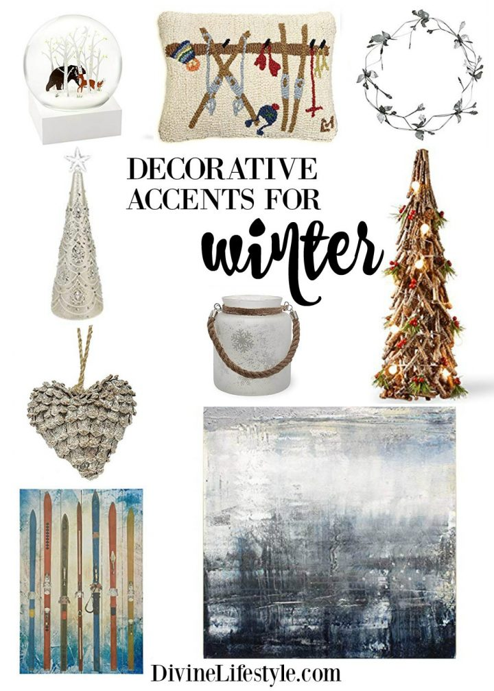 Decorative Accents for Winter