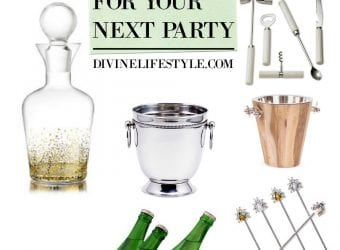 Beautiful Bar Accessories for Your Next Party