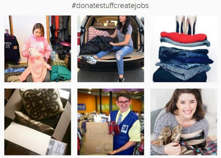 Goodwill's Donate Stuff to Create Jobs Campaign #DonateStuffCreateJobs
