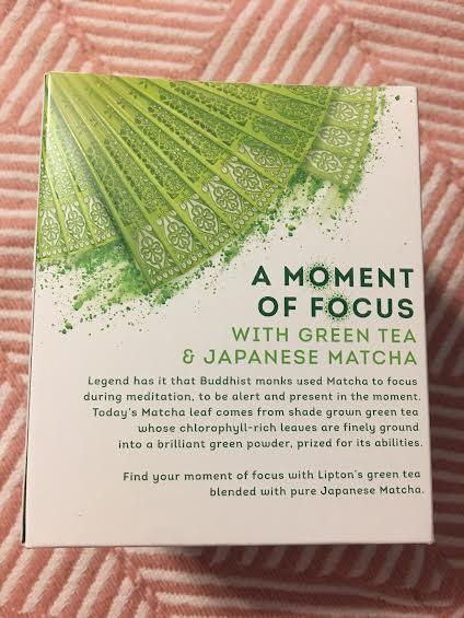 Find Focus with Lipton's Magnificent Matcha Green Tea #LiptonMatcha