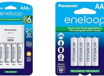 Panasonic eneloop Ready to Use Rechargeable Batteries