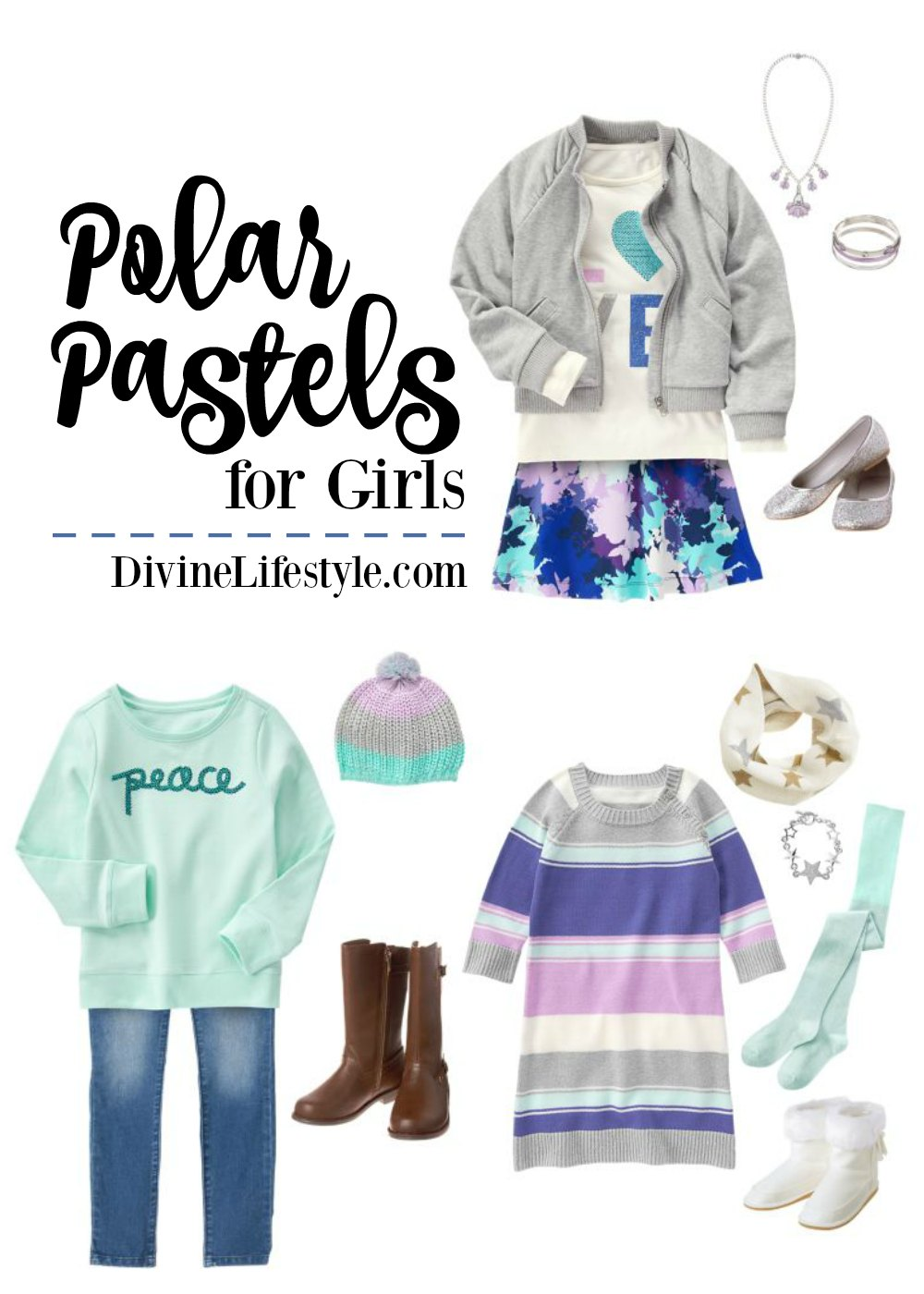 Polar Pastels for Girls