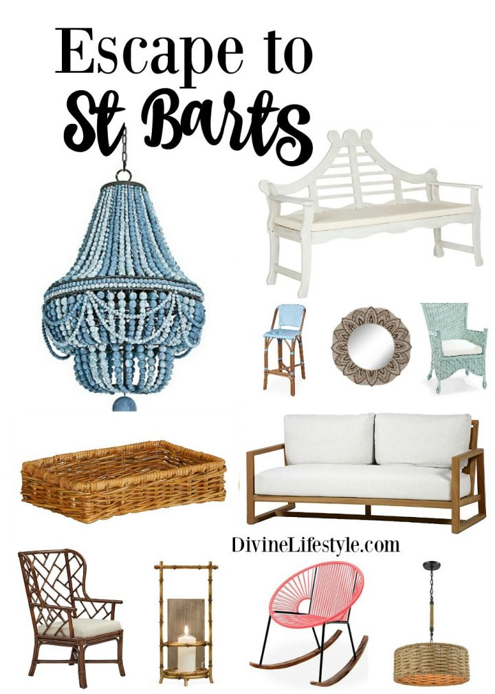St. Barts' Style for your Home