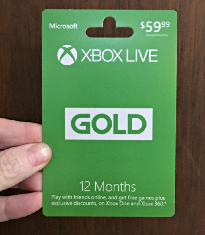 xBox Live Gold 12 Month Membership EGift from Gift Card Mall