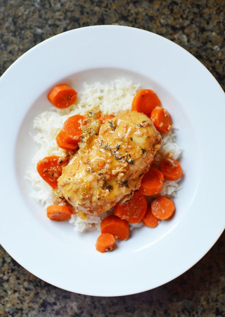Instant Pot Honey and Thyme Chicken Recipe