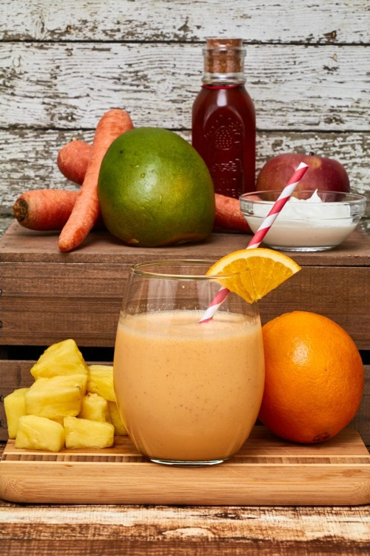 Orange Carrot Smoothie Recipe Wayfair