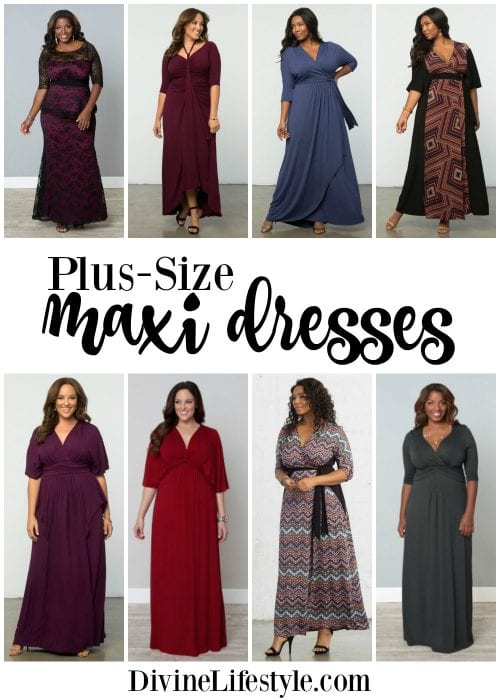 Plus Size Maxi Dresses from Kiyonna Style Clothing Divine Lifestyle
