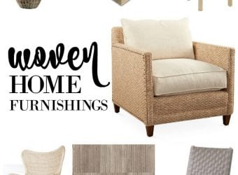 Woven Home Furnishings