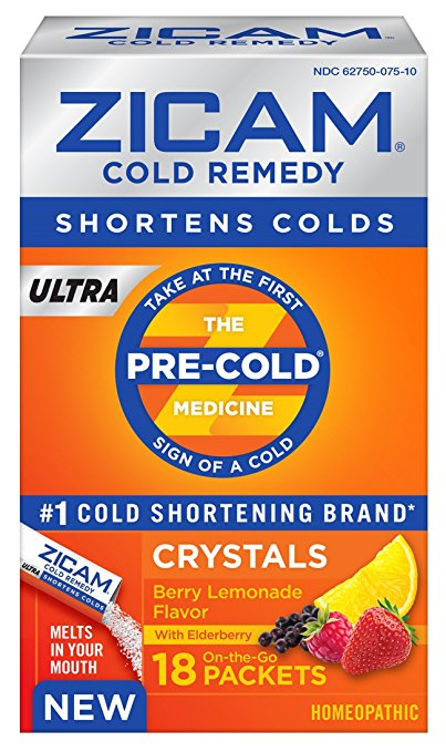 Start Your Year Right with Zicam ULTRA Berry Lemonade Crystals #ZicamCrowd