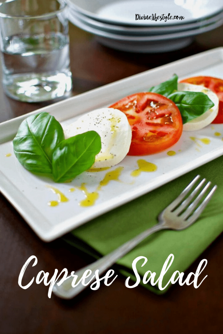 Traditional Caprese Salad Recipe
