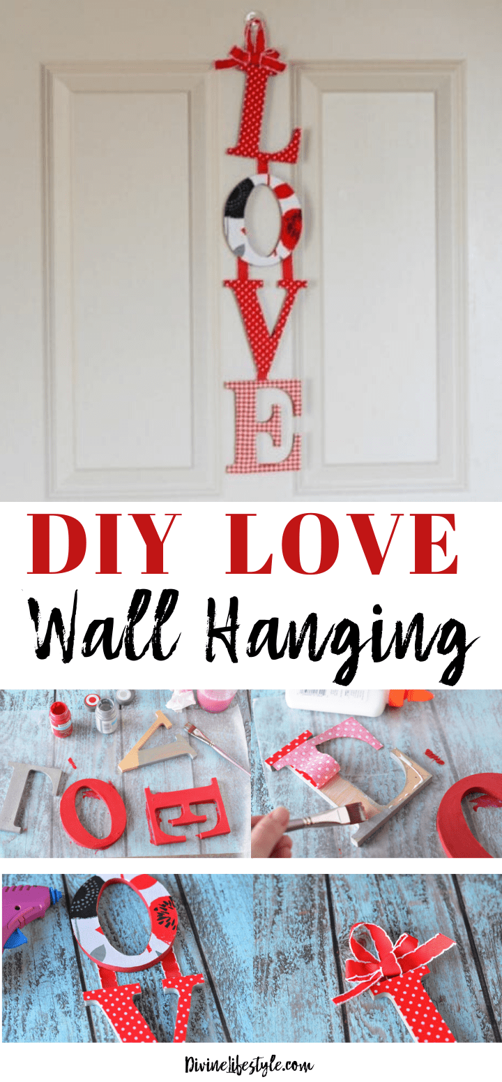 DIY LOVE Wall Hanging