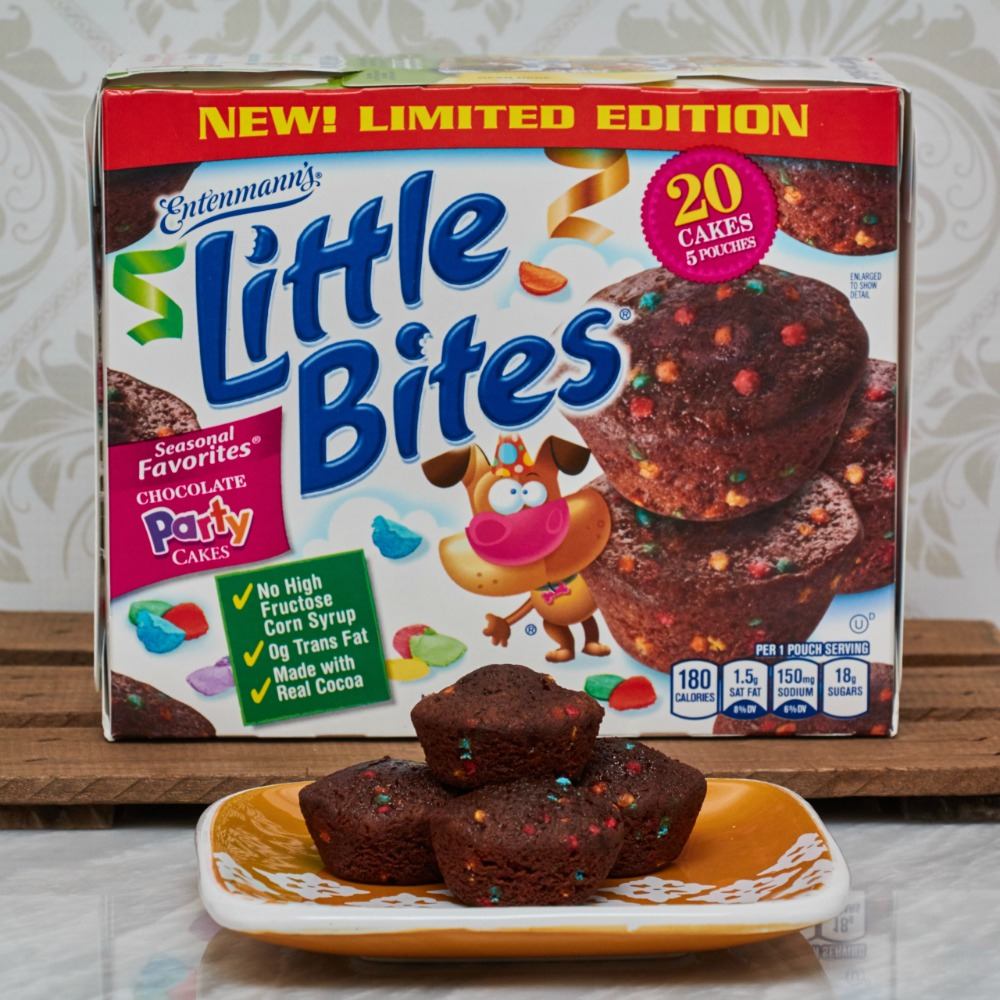 Make Any Day A Party with Entenmann's Little Bites Chocolate Party Cakes #LoveLittleBites