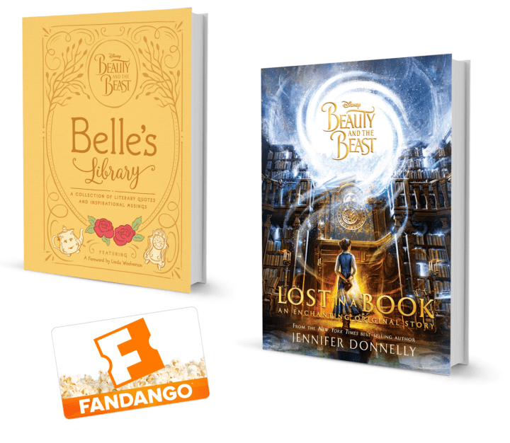 Beauty and the Beast: Lost In A Book + $50 Fandango #Giveaway #LostInABook