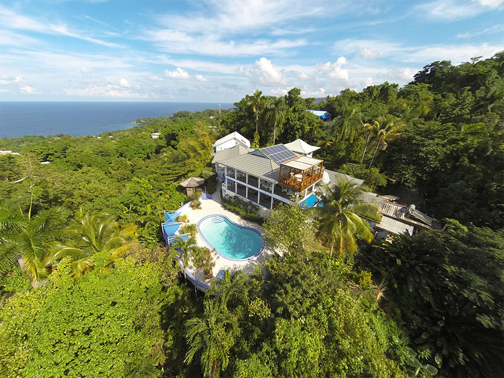 Hotel Mockingbird Hill in Port Antonio Jamaica Eco Resort