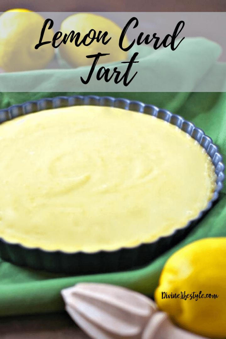 Lemon Curd Tart Recipe