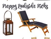 Preppy Poolside Picks