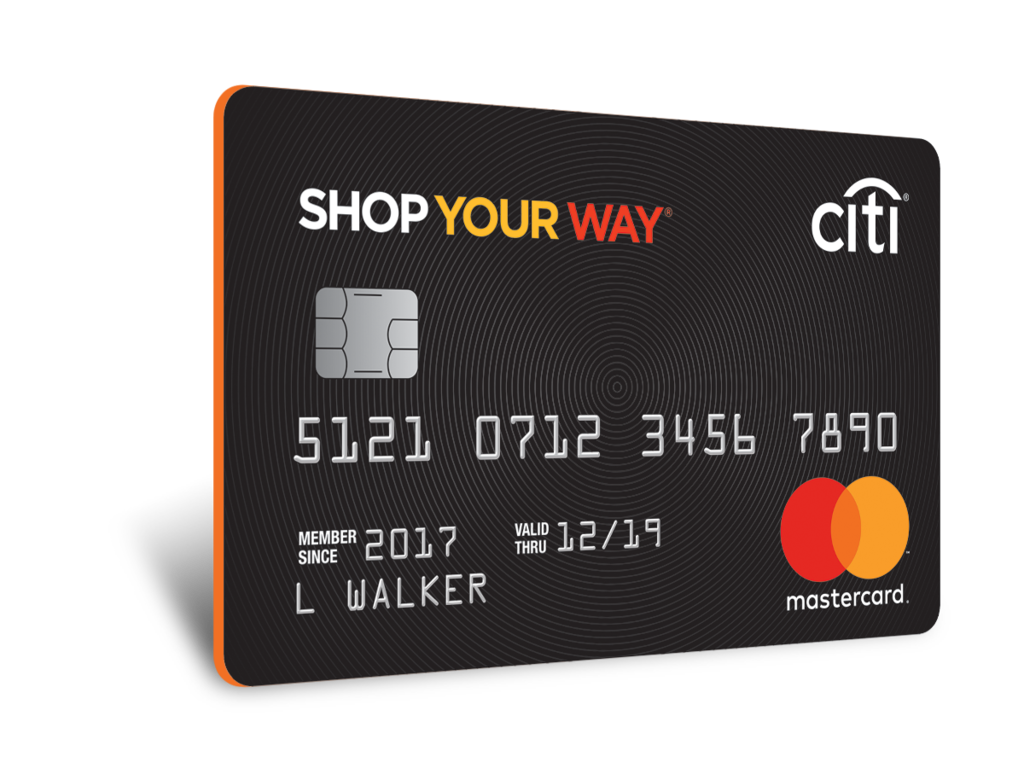 Get the Sears Mastercard with Shop Your Way to earn more points
